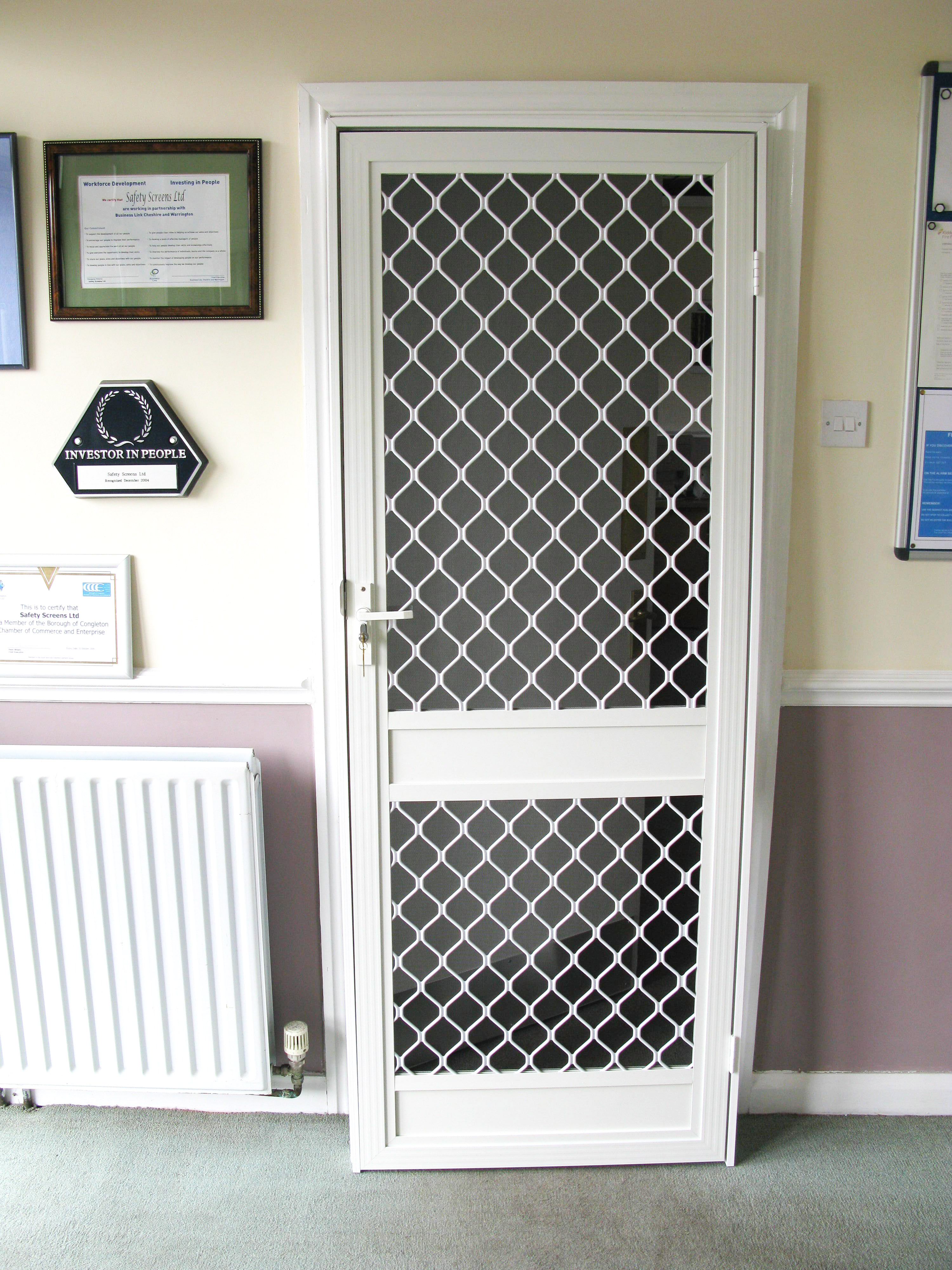 Doors With Screen: Fly Screen Security Doors