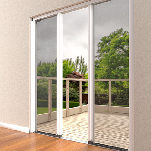 insect screen double door